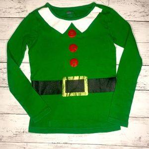 Elf Holiday Top Sz 8